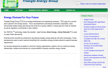 triangle energy home page