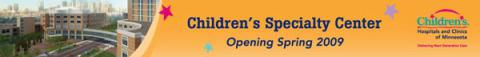 Childrens 42' fence construction banner