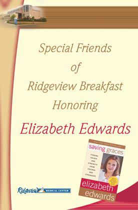 Ridgeview Elizabeth Edwards poster