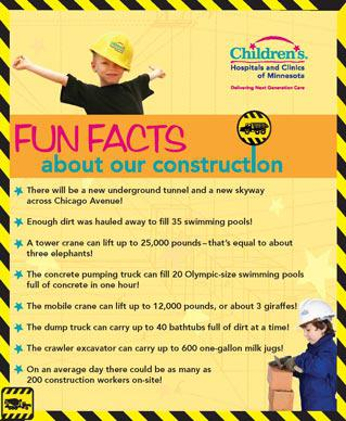 Construction info outdoor banners emkay co for Construction info