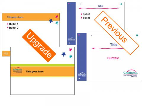 Upgrade internal presentation format for Childrens Hospitals & Clinics of Minnesota