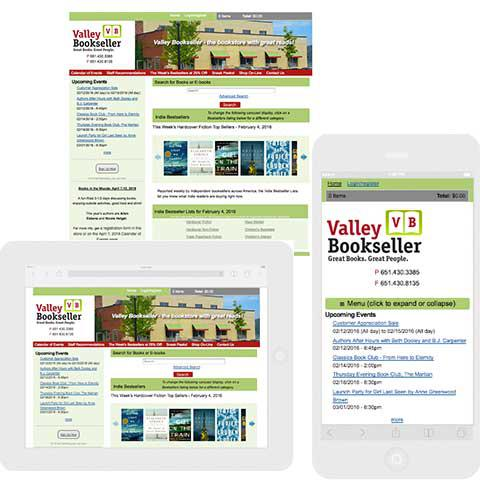 Valley Bookseller responsive image
